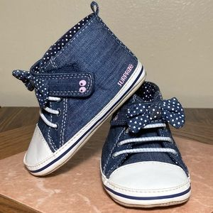 Surprize by Stride Rite Baby Shoes Size 6-12mo Jea